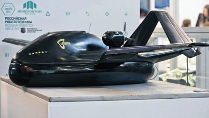 Chirok amphibious UAV