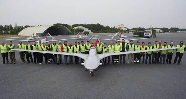 THE BAYRAKTAR II, A TACTICAL UNMANNED AERIAL VEHICLE (UAV) WHOSE SOFTWARE AND INFRASTRUCTURE SYSTEMS WERE DEVELOPED BY TURKISH ENGINEERS, HAS SUCCESSFULLY GONE THROUGH ITS FLIGHT TESTS AND IS SCHEDULED TO BE DELIVERED TO THE TURKISH ARMED FORCES (TSK) BY THE END OF THE YEAR. THE BAYRAKTAR IS EXPECTED TO MAKE A MAJOR CONTRIBUTION TO THE TSK, ESPECIALLY IN OPERATIONS IN EASTERN AND SOUTHEASTERN ANATOLIA WITH ITS CAPACITY TO FLY SILENTLY.