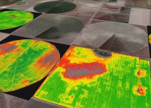 Drought analysis for farmers using drone technology