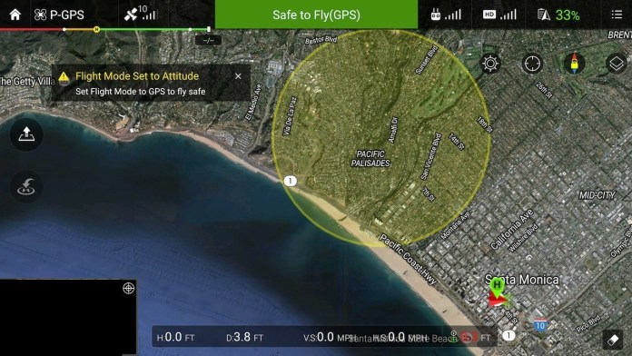 Dji And Airmap Deliver Real Time Wildfire Awareness And Geofencing