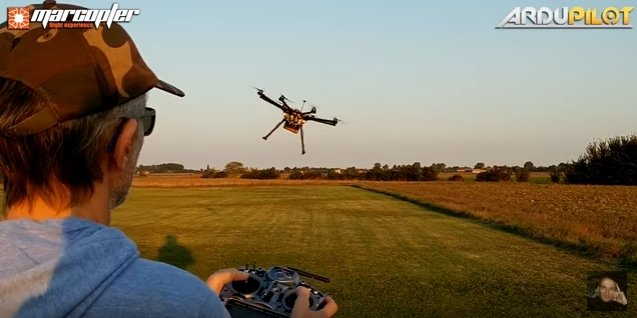 Ardupilot project releases new firmware Copter-3 4 - sUAS News - The
