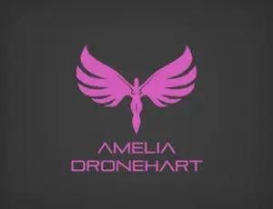 Amelia Droneheart Logo