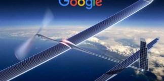 Google Titan Aerospace S flying