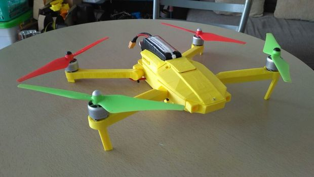 image regarding 3d Printable Drone called 3D Published UAV Archives - sUAS Information - The Business office of Drones