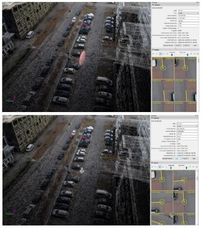 Achieving your best accuracy with error ellipsoid in Pix4Dmapper