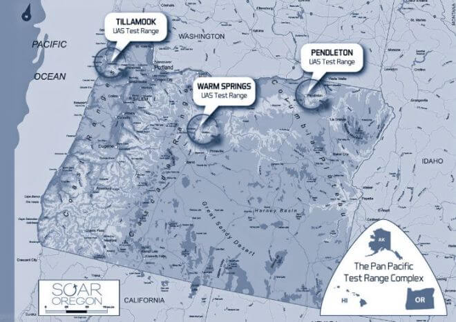 Warm Springs Faa Uas Test Range Expands Operations To Prineville And