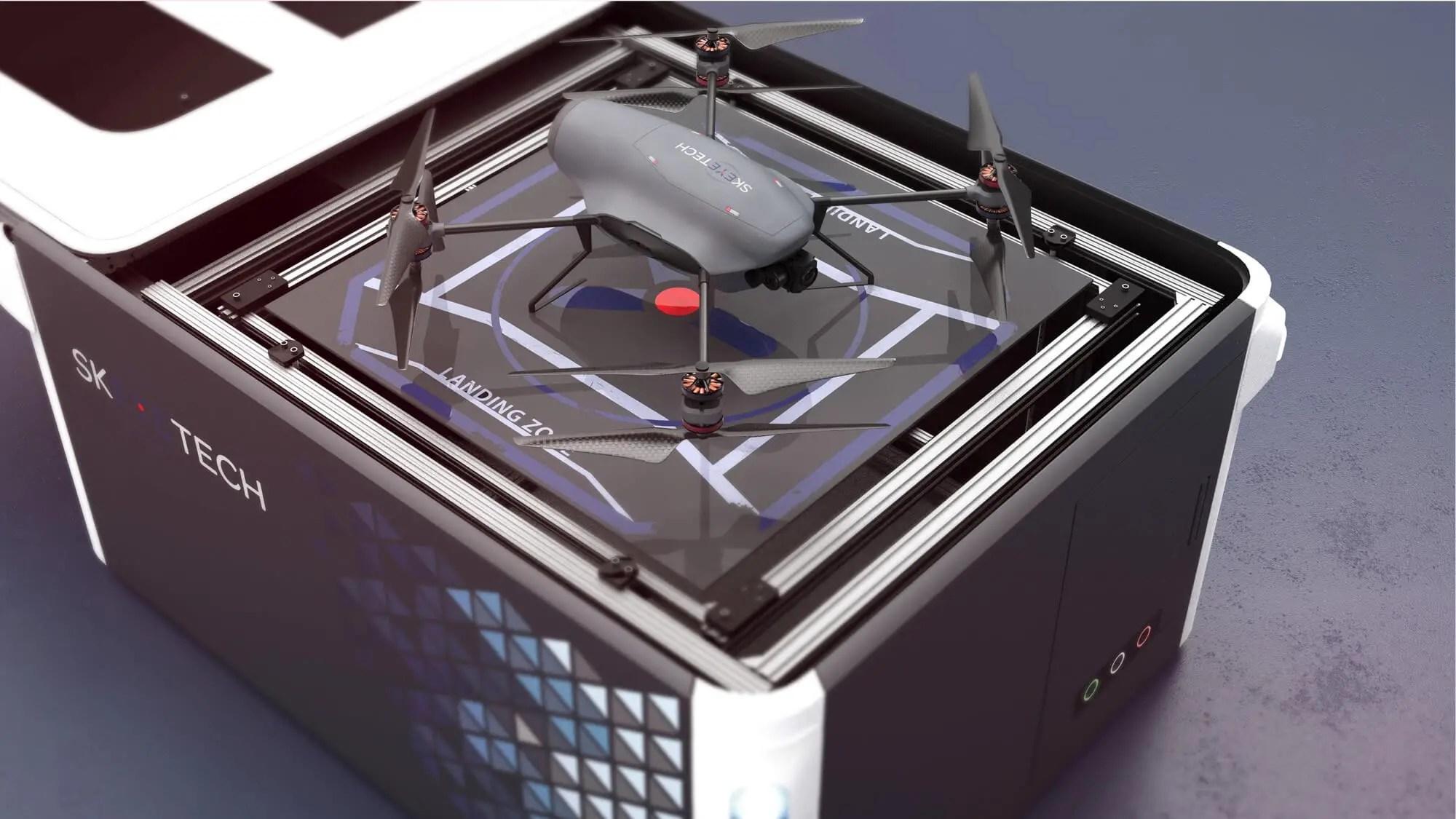 Skeyetech autonomous drones make industry safer - sUAS News - The Business of Drones
