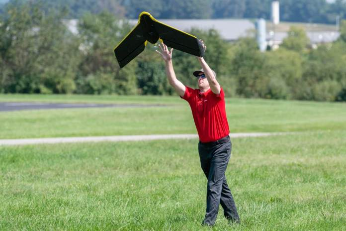 DP&L companions with senseFly and Sinclair Faculty to construct drone program and bolster enterprise utilities administration - sUAS Information 1