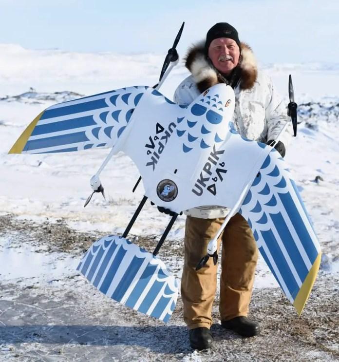 Wingcopter Arctic UAV