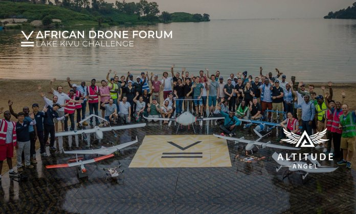 Altitude Angel African Drone Forum Lead UTM Lake Kiv Challenge