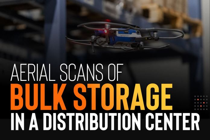 Aerial Scans Of Bulk Storage In A Million Sq. Foot Equipment Distribution Middle - sUAS Information 1