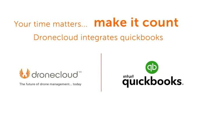Dronecloud publicizes Quickbooks integration - sUAS Information 2