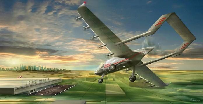 Aerial logistics community for same-day e-commerce - sUAS Information 1