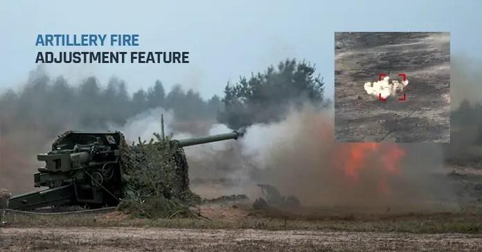 Octopus ISR Systems artillery fire adjustment
