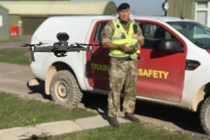 salisbury drone