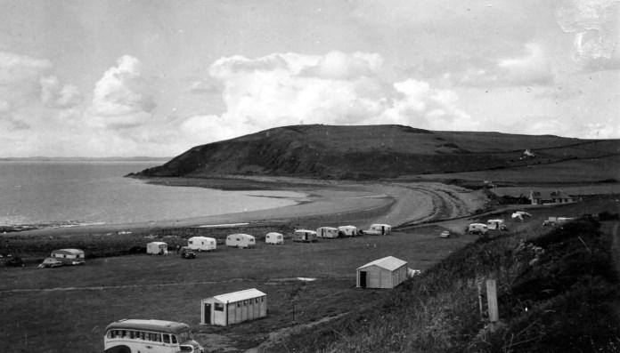 Caravan Park Auchenmalg Luce Bay Scotland