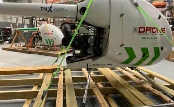 Drone Delivery Canada crates