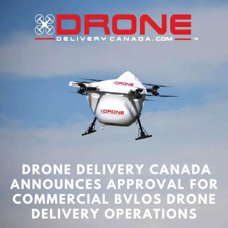 Drone Delivery Canada Aussichten