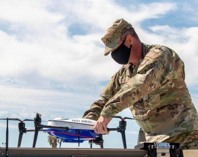 Travis Air Power Base and Straightforward Aerial Associate for Autonomous Drone-Primarily based Safety Operations - sUAS Information 1