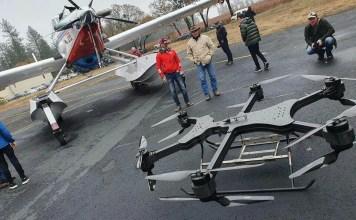 XFold Dragon Cargo Drone