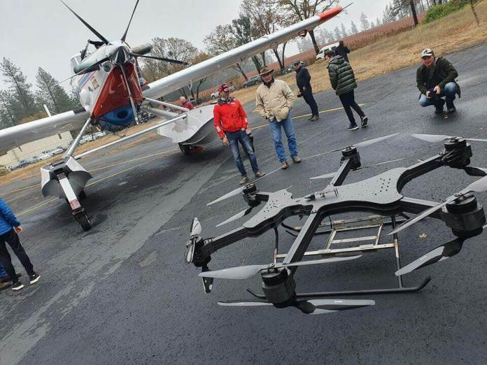 xFold drones - 1k lb capability, eight hour flight time, interchangeable rotor configurations - sUAS Information 3