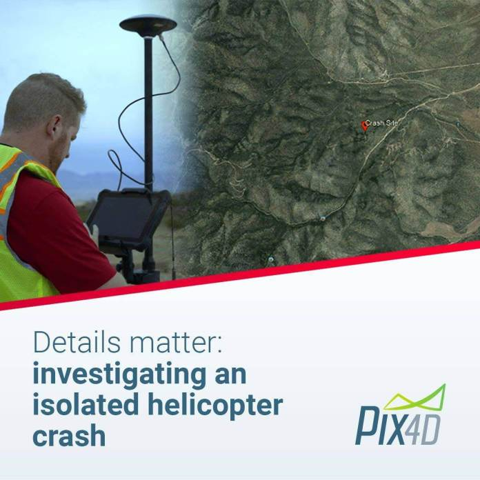 Particulars matter: investigating an remoted helicopter crash - sUAS Information 4