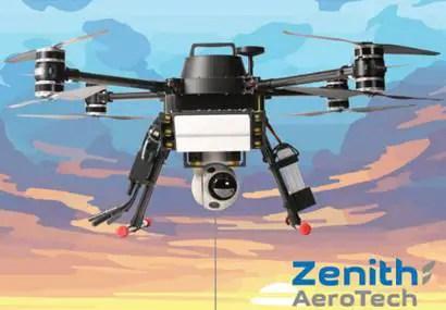 Zenith Aerotech mounts radar, networking radio, and EO/IR digital camera on small, tethered drone - sUAS Information 1