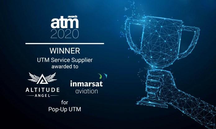 Altitude Angel and Inmarsat's groundbreaking pop-up UTM wins 2020 ATM award - sUAS Information 1
