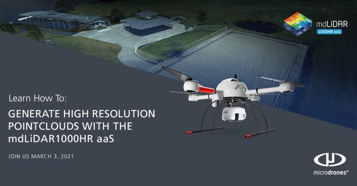 Learn to Generate Excessive-Decision Level Clouds with the All-New mdLiDAR1000HR aaS Drone LiDAR system - sUAS Information 1