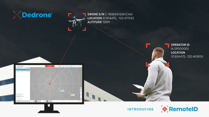 Dedrone First to Provide Each United States and European Union Drone Distant ID Functionality - sUAS Information 1