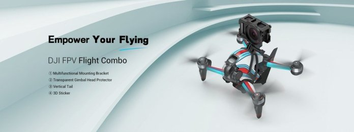 SmallRig launches the aero DJI FPV Combo and formally enters the drone accent market - sUAS Information 1