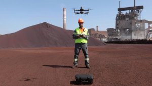 The adoption of drone technology helps ArcelorMittal to accelerate Its transformation and innovate in industrial inspections and maintenance processes