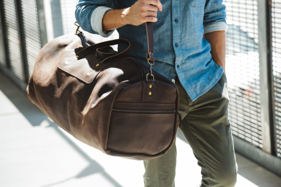 Baggin' It: Leather from Go Forth Goods