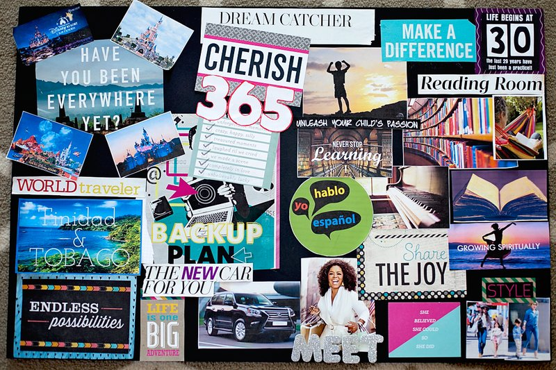5 tips for Vision Boarding