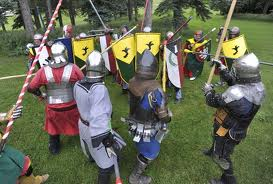 Knights, all night long.