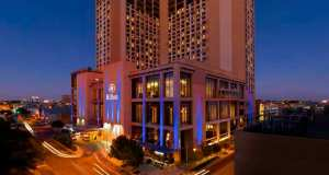 Hilton Austin Downtown Night