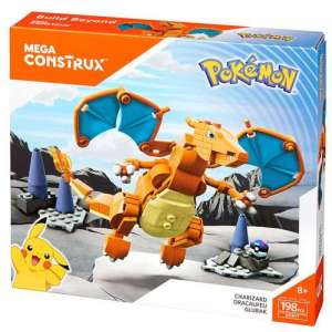 Package design for Charizard Pokémon Mega Construx