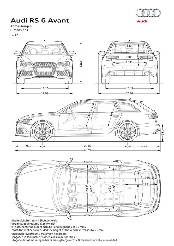 2014 Audi RS6 Avant performance station wagon