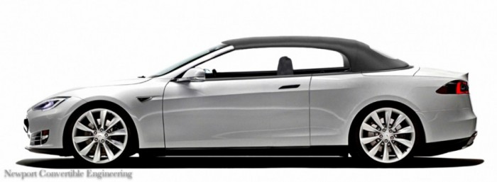 Wonderful Tesla S 2 Door Convertible