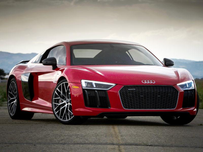 Top 10 sport cars - AudiR8