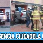 """Camioneta se """"metio"""" a la sala de una casa en la Ciudadela Cafam de Suba"""