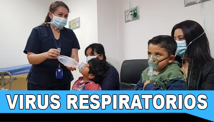Circulación de virus respiratorios se acrecienta por humedad en el aire e incremento de lluvias