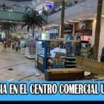 Emergencia en el norte de Bogotá en centro comercial Unicentro por desplome de parte del techo