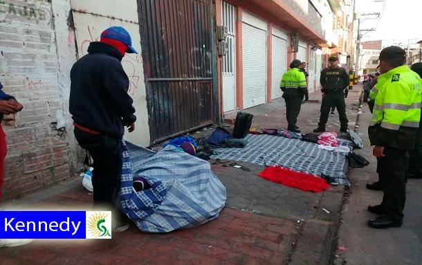 Intervención en la zona de María Paz para seguir controlando el espacio público y previniendo la venta y consumo de estupefacientes