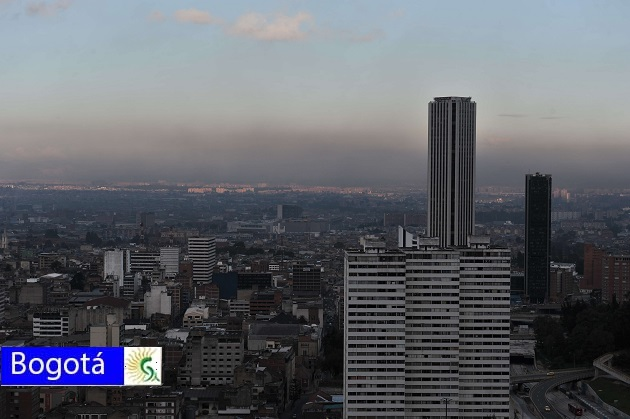 Incendios forestales deterioran nuevamente la calidad del aire en Bogotá