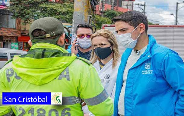 """Alcaldía local lanza estrategia de Seguridad """"San Cristóbal cuida a San Cristóbal"""""""