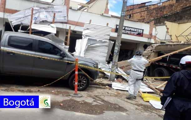 Última Hora: Una persona falleció tras explosión en obra en la localidad de Barrios Unidos