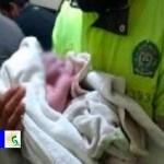 Policía de la Estación de Suba asisten un parto de una mujer, quien dio a luz a una bebita, en buen estado de salud