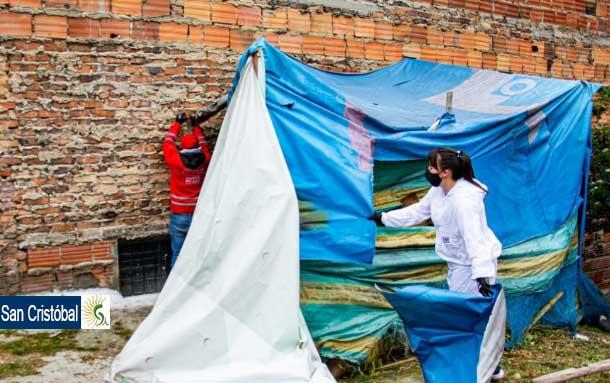 Alcaldía Local de San Cristóbal recupera zonas inseguras de la localidad