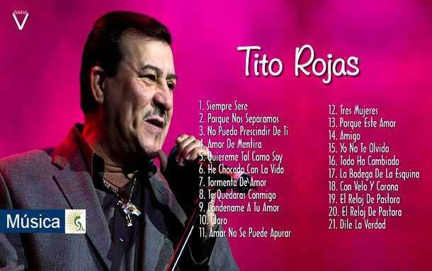 Luto en la música salsa: En la mañana de este sábado murió el cantante Tito Rojas